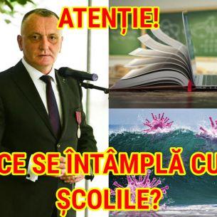 Atenție! Ce se va întâmpla cu şcolile dacă vine valul 4 al pandemiei? Ministrul Cîmpeanu: