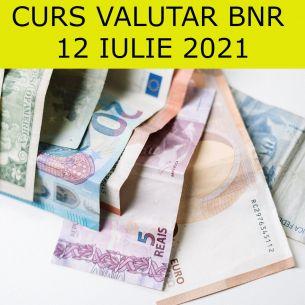 // Curs valutar BNR luni, 12 iulie 2021 // Leul crește față de euro și dolar! Cele mai noi cotații