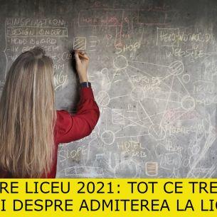 ADMITERE liceu 2021. Cum se face admiterea la liceu și cum arată fișa de înscriere?