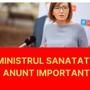 Ministrul Sanatatii, avertisment dur cu privire la declansarea unui val 4 al pandemiei de COVID-19 in Romania!