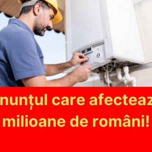 Toți românii care au centrală termică trebuie să știe asta. Este vorba despre o nouă taxă