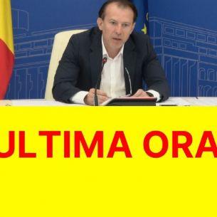 """Florin Cîțu, anunțul momentului despre restricții: """"Nu scăpăm de mască!"""" Ce se întâmplă de la 1 august?"""