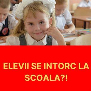 """Vestea momentului pentru ELEVI! Se întorc la școală din toamnă?! Ministrul Educației : """"Valul patru nu va fi atât de agresiv încât să pună probleme"""""""