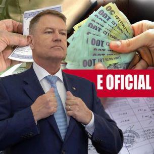 Veste bună pentru pensionarii români! Pensiile s-au MĂRIT masiv! Cand intra in vigoare