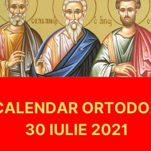 Sarbatoare, vineri, 30 iulie 2021: Ce mari Sfinti sunt pomeniti in biserica ortodoxa astazi! Nu uitati sa spuneti