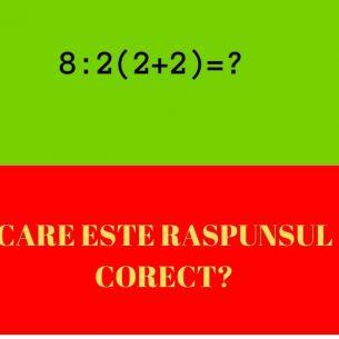 Problema de matematică care a împărțit internetul în două. Care este răspunsul corect?