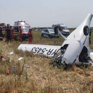 ACCIDENT AVIATIC în România: Un avion s-a PRĂBUȘIT lângă București! Sunt mai multe victime
