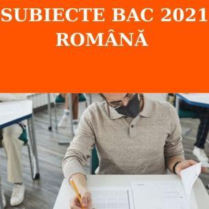 // SUBIECTE BAC 2021 română, sesiunea de toamnă // Barem de corectare conform edu.ro. Află dacă ai făcut corect subiectele