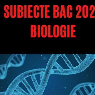 // VERIFICĂ: Barem BAC biologie toamnă 2021 // SUBIECTE BAC 2021 biologie, sesiunea de toamnă. Verifică dacă ai făcut corect exercițiile conform edu.ro