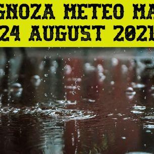 Prognoza meteo ANM pentru marți, 24 august 2021: VREME SEVERĂ! Ce temperaturi vor fi