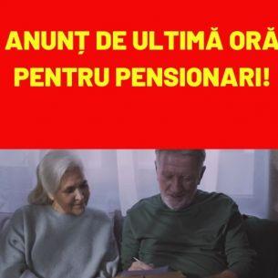 RECALCULAREA pensiilor 2021. Românii care ar putea primi pensii mai mari! Casa Națională de Pensii a făcut anunțul