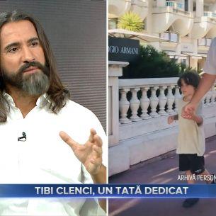 EXCLUSIV! Tibi Clenci, primele imagini alaturi de fiul lui. La ce varsta