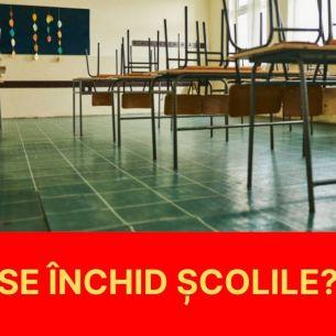 Atenție elevi și părinți! Se închid școlile în luna octombrie? Anunțul făcut de Sorin Cîmpeanu: