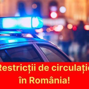 Este oficial! Circulație interzisă după ora 20:00 și magazine închise la ora 18:00.  Intră în vigoare în acest weekend. Iată unde s-a luat această decizie!