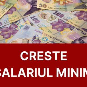 Anunțul mult așteptat de români. Se majorează salariul minim de la 1 ianuarie?