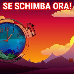 Se schimbă ora! România va trece la ora de iarnă