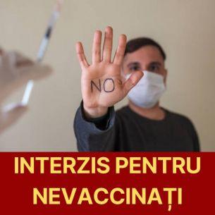 Lovitură pentru români! Primele restricții pentru persoanele nevaccinate. Ce măsuri vor fi introduse în România