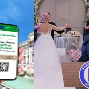 Noi restricții pregătite de Guvern! Accesul la nunți, botezuri și alte evenimente, doar cu certificat de vaccinare