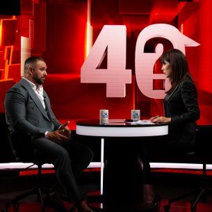 """În această seară, de la ora 22:45, la """"40 de întrebări"""",Alex Bodi, """"chestionat"""" de jurnalista Denise Rifai, la Kanal D!""""Nu mă pot numi bărbat!"""""""
