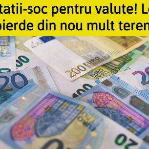 Curs valutar BNR luni, 20 septembrie 2021. Euro și dolarul explodează! Cotații-șoc!