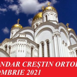 CALENDAR creștin ortodox octombrie 2021. Care sunt cele mai importante sărbători religioase din luna octombrie 2021
