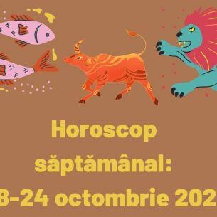 Horoscop săptămânal: 18-24 octombrie 2021. O zodie se va trezi la realitate. Schimbări în sfera personală pentru anumiți nativi