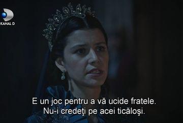 """Printul Mehmet, condamnat la moarte de fratele sau, Sultanul Osman! Ce se intampla azi in """"Kosem"""" veti putea vedea de la ora 20.00, numai la Kanal D"""