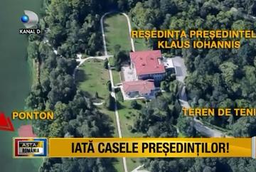 Multi dintre noi ne intrebam, la un moment dat, unde locuieste presedintele tarii, Klaus Iohannis, sau cum arata locurile in care stau fostii presedinti ai Romaniei, Traian Basescu, Ion Iliescu si Emil Constantinescu!