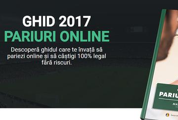 Vrei să joci la pariuri online? Descarcă acum gratuit ghidul pentru 2017