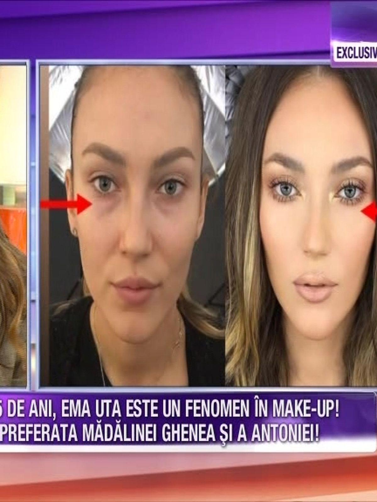 La Doar 25 De Ani Ema Uta Este Un Adevarat Fenomen In Make Up