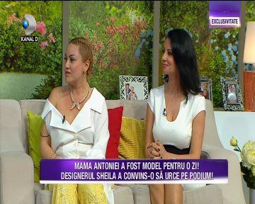 """Denise Iacobescu, mama Antoniei, in premiera in platoul """"Teo Show""""! Iata cum arata cea mai sexy bunica, la aproape 50 de ani si cat de tare ii dau batai de cap nepotii!"""