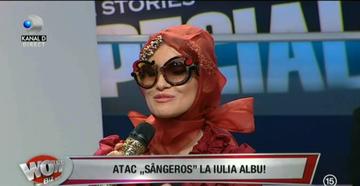 """Iulia Albu, moment suprinzator! Cine este vedeta care a primit trofeul """"WOW""""? """"Domnita de Alba"""" nu-i stia nici macar numele, dar i-a dat premiul cel mare"""