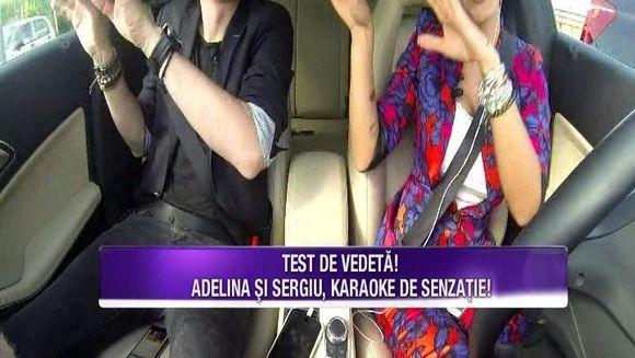 Adelina Pestritu, asa cum n-ai mai vazut-o pana acum! Iata cum a fost surprinsa vedeta la volanul masinii sale si cum s-a comportat in parcul de distractii!