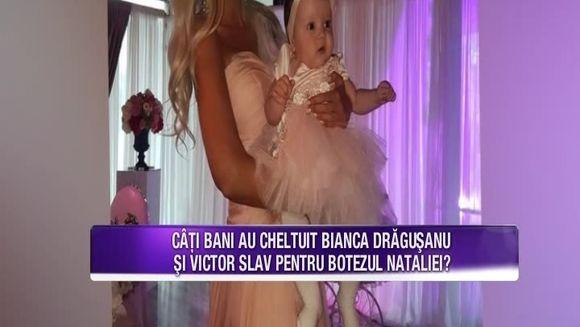 Bianca Dragusanu a dezvaluit cati bani a cheltuit pentru botezul fiicei sale! Vedeta a astepatat cu nerabdare fericitul eveniment si a pregatit in detaliu petrecerea alaturi de iubitul ei