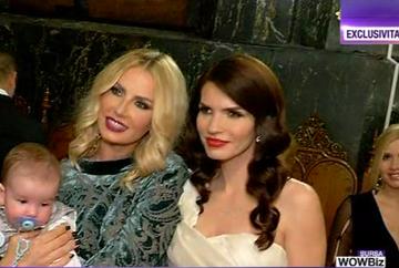 Andreea Banica si Lucian Mitrea, emotii intense la crestinarea fiului lor, Noah Andrei! Imagini in exclusiviate, de la grandioasa petrecere de botez!