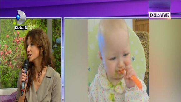Ioana Dichiseanu, prima aparitie la TV, dupa ce a nascut! Fiica ei este cea mai mare prioritate si de sapte luni, nu lasa pe nimeni sa o pupe! Iata ce probleme intampina Ioana de cand Anastasiei ii dau dintisorii!