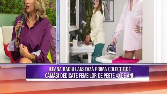 Ileana Badiu sustine ca femeile sunt mai sexy dupa 40 de ani! Aceasta a lansat o colectie vestimentara dedicata femeilor de peste 40 de ani care se simt bine in pielea lor!