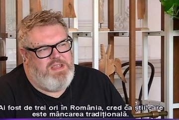 """Kristian Nairn, cunoscut drept """"Hodor"""", din """"Urzeala Tronurilor"""" se afla pentru a treia oara in Romania! Celebrul actor adora micii, ciorbele si dulciurile ramanesti!"""