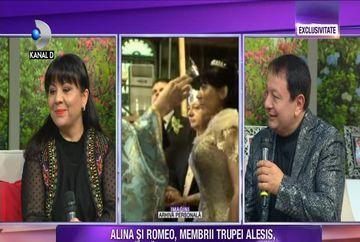 """Alina si Romeo, membrii trupei """"Alesis"""", favoritii Irinei Loghin aduc imagini, in exclusivitate, de la nunta lor! Iata cum rezista casnicia lor de mai bine de un deceniu!"""