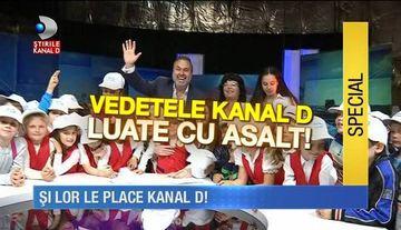"""Presedintele KANAL D, impresionat de copiii care au luat """"cu asalt"""" studiourile TV.  Sute de micuti ne-au vizitat in cadrul saptamanii """"Altfel"""""""