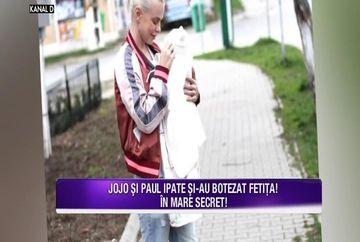 Jojo si-a botezat in secret fiica! Iata ce invitati de seama au avut la petrecerea organizata cu ocazia crestinarii micutei Zora!