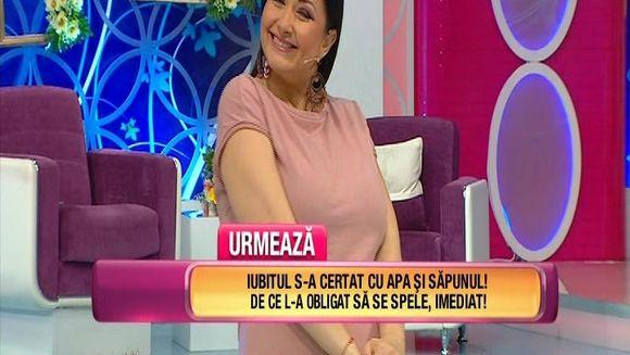 """Gabriela Cristea, mofturi de graviduta: """"Sa vezi cate talente iti fac de acum inainte!"""". Iata ce avertisment i-a lansat prezentatoarea TV sotului ei si cum a reactionat Tavi Clonda"""