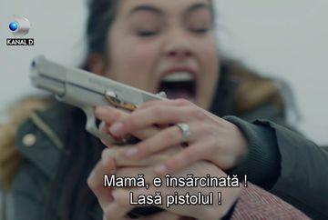 """Nihan o impusca pe Zeynep, care incearca sa fuga! Nu rata un nou episod din serialul """"Dragoste infinita"""", azi, de la 20.00, la Kanal D"""