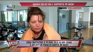"""Gina Matache, dezvaluiri de senzatie! Artista a vorbit despre Nick, fostul coleg de trupa al Deliei: """"Am plans, nu puteam sa-l sufar"""""""