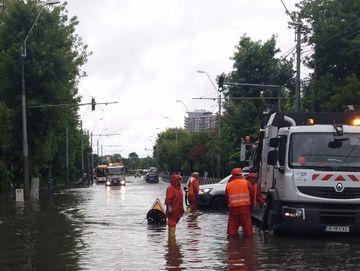 Datorita investitiilor in reteaua de canalizare, Bucurestiul a evitat o catastrofa lacustra