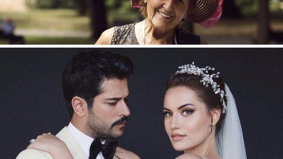 """E emotionant ce a facut femeia asta, din dragoste pentru Burak Ozcivit (Kemal din """"Dragoste infinita"""") si sotia lui! E o simpla vanzatoare din Belgrad, dar a emotionat mii de oameni"""