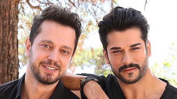 """BURAK OZCIVIT (Kemal din """"Dragoste infinita""""), in plina actiune pe platourile de filmare! Iata cum a fost surprins de """"fratele"""" lui, Murat Boz! Vezi un filmulet hazliu!"""