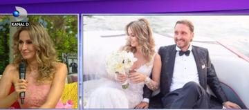 Dupa noua ani de relatie, Crina Abrudan s-a maritat cu fotbalistul Gabi Popescu! Fosta stirista a facut cele mai inedite dezvaluiri de la nunta sa si a adus in premiera cele mai frumoase imagini de la petrecere!