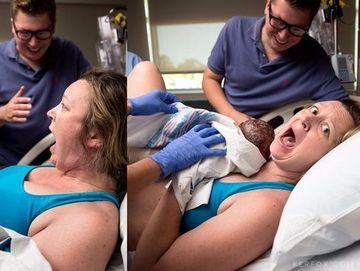 Era la a doua nastere, asa ca stia cum arata un bebelus nascut de cateva secunde, insa a apucat-o groaza cand doctorul i-a dat copilul sa-l tina in brate! Uite ce a facut-o sa reactioneze asa