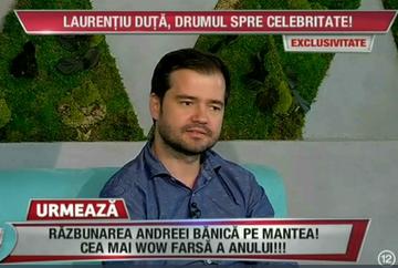 """Laurentiu Duta, drumul spre celebritate: """"Am creat trupa 3 Sud Est la o placinta şi un iaurt!"""""""